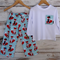"""Mr Fox"" Pants and Onesie Set - size 1-3"
