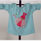 Mint Green Girls Swing Top with Lady Bird Applique