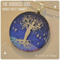 The GODDESS TREE INDIGO VIOLET SHIMMER Artisan Glass by Curly Jo