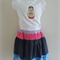 SUPER SALE - Sz 2-3 - Skirt with T-shirt