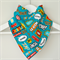 BUY 3 GET 4th FREE Superhero Action Words Bandana Dribble Bib