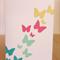 Rainbow Butterfly Card