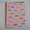 April Showers - Blank Greeting Card & Envelope