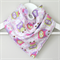 BUY 3 GET 4th FREE Pink Owl Bandana Dribble Bib