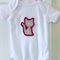Kitty Cat (Dark Pink) - size 000