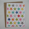 Crazy Stars - A2 Blank Greeting Card & Envelope