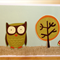 Woodland Owl Card