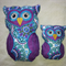 Beautiful Stuffed Owl Set