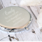 Engraved Compact Mirror - See how beautiful you are today