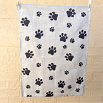 Tea Towel - Dog Paw Print