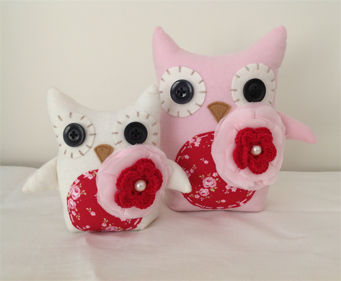 Owl Baby Gifts Australia : Owl set red pink white baby girl shower