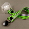Dummy Clip - Skinny Black and White on Green #2