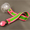 Dummy Clip - Green and Pink Stripe