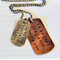 Fitness Dog Tag Necklace Womens Inspiration Necklace Workout 24'' chain