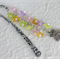 Crochet Diva Beaded Flower Bookmark Handmade OOAK Original  by Top Shelf