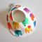 DRIBBLE BIB - Buy 3 get the 4th Free - Rainbow Elephants Unisex baby gift