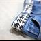 tween belt - black-birds / Japanese cotton fabric / girl or boy / 9-12 years