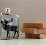 Scrabble Tile Pendant - Moose