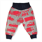 Red Vehicles Knit Banded Pants (SIZE 1-4)