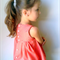 girls blouse - coral dots prairie tunic blouse