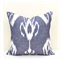 Organic Cotton Ikat Cushion Cover