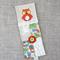 owl, orange, strawberries, cross-stitched, linen, screen-printed, bookmark, mum