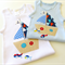Sailboat Baby Toddler Singlet