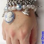 """""""EMPRESS OCEANE"""" bracelet stack"""