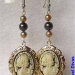 """CONTESSA ANASTACIA"" royale earrings"