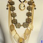 """""""CONTESSA CHRISTIANE"""" fleur necklace"""