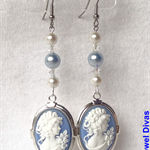 """EMPRESS OCEANE"" earrings"