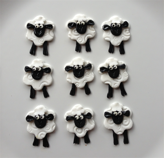 Shaun The Sheep Edible Cupcake Toppers | Sugar & Spice ...