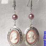 """""""PRINCESS SYBELLA"""" earrings"""