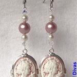 """PRINCESS SYRIANA"" earrings"