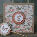 You're the Best Mini Card  ~ matching Cupcake Topper ~ Mother's Day