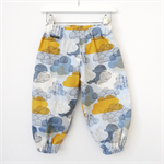 Modern Harem Play Pants Sizes 0000-1 COOL CLOUDS