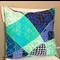 Vintage Barkcloth Cushion Cover