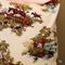 'Hunting Scene' Vintage fabric Cushion