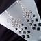 Jet Black Swarovski crystal chandelier, Sterling Silver, dangle earring