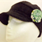Girls Winter Cap, with Brooch