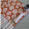 Sewing Machine Mat - Lotta Jansdotter - Orange / Grey