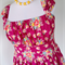 Ladies Dress, Jamie Dress, Retro, 50s Style, Floral Plus Size / mothers day