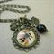 """Queen Bee"" Charm Necklace"
