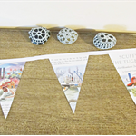 Golden Book Bunting Scuffy the Tugboat Wall Ship Boat Maritime Children