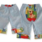 SIZE 0 Boys Corduroy panel pants