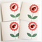 4 LADYBUG gift tags or mini cards