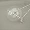 Custom Listing for Danielle - Large Handblown Glass Bubble Necklace