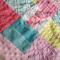 vintage chenille blanket baby snuggle security blanket