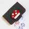 Toadstool Business Cards holder, cards wallet, pure wool felt, Perth