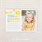 Photo Birthday Invitations. You are my Sunshine Design. I Customise, You Print.